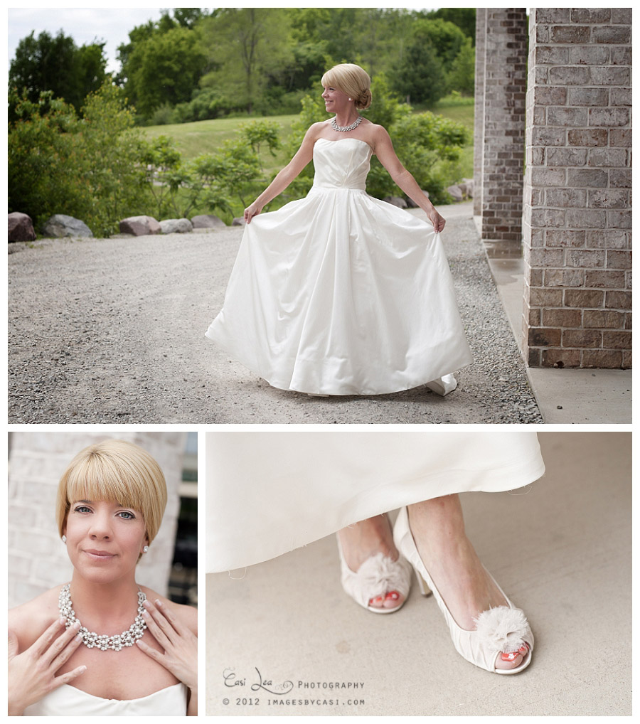 Bridal portraits by green bay wedding photographer Casi Lea Photography