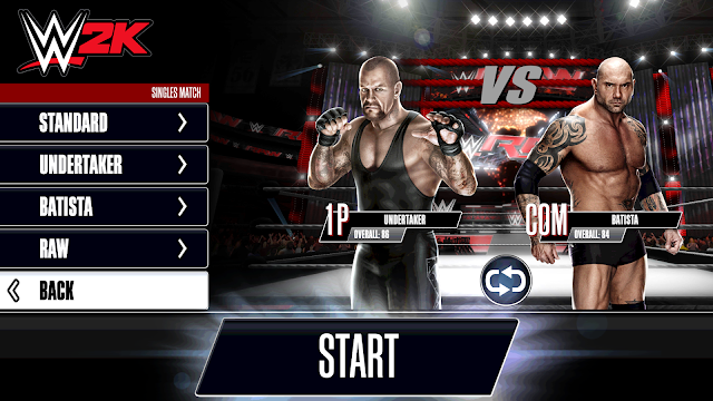 WWE 2K Game Smackdown Android