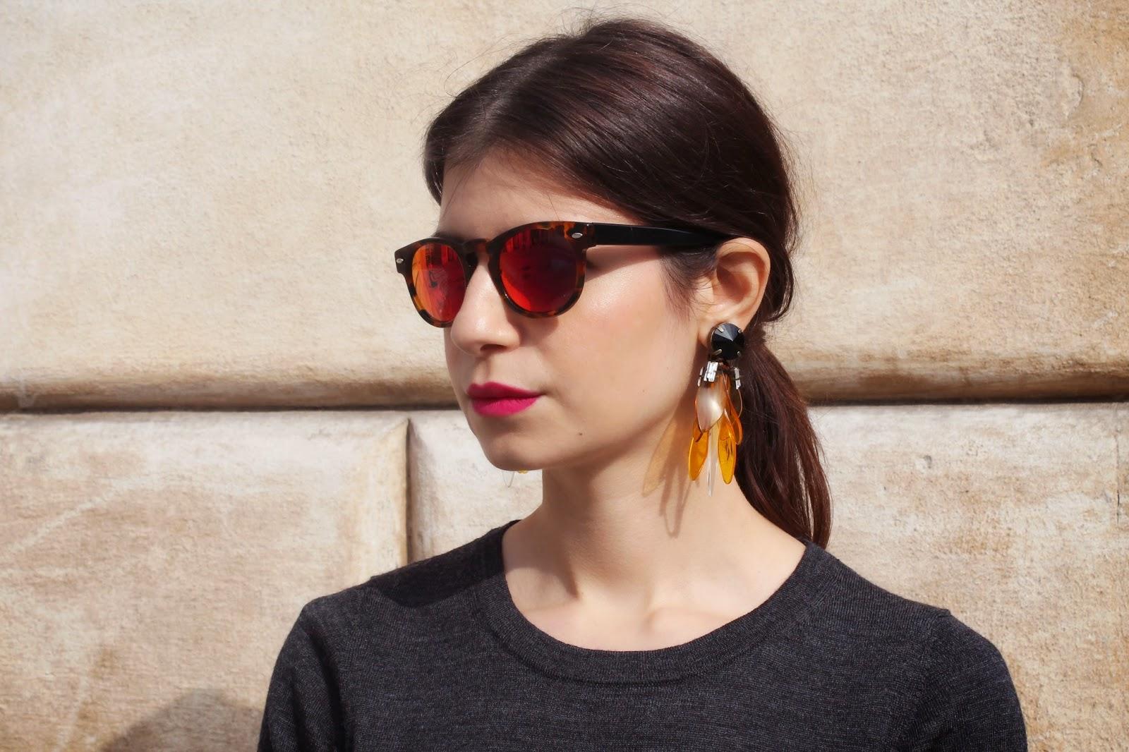 marni for H&M, revo, shades, mirror