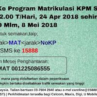 Tawaran Program Matrikulasi Kpm Sesi 2020 2021