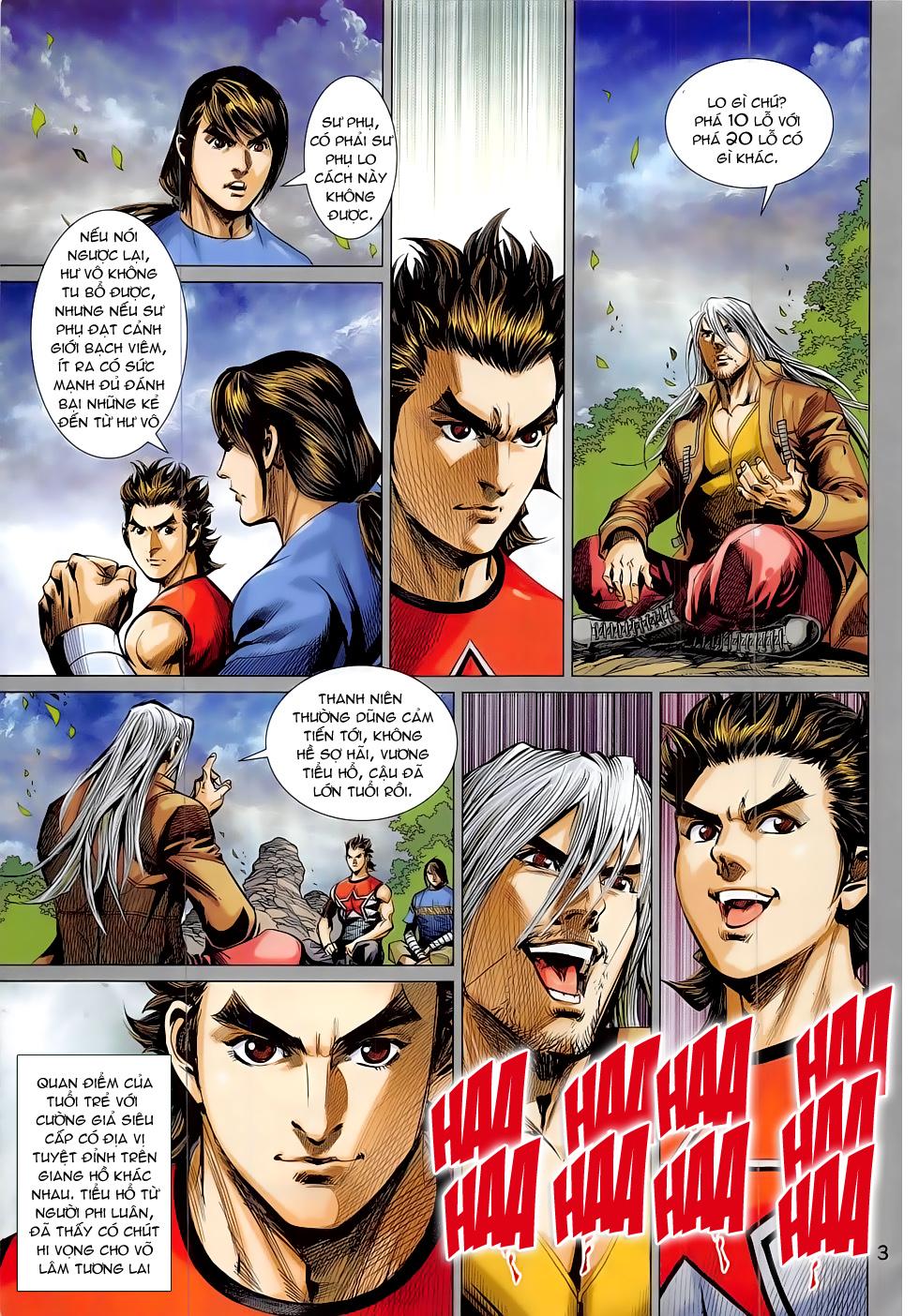 Đông Phương Chân Long chap 64 - Trang 3