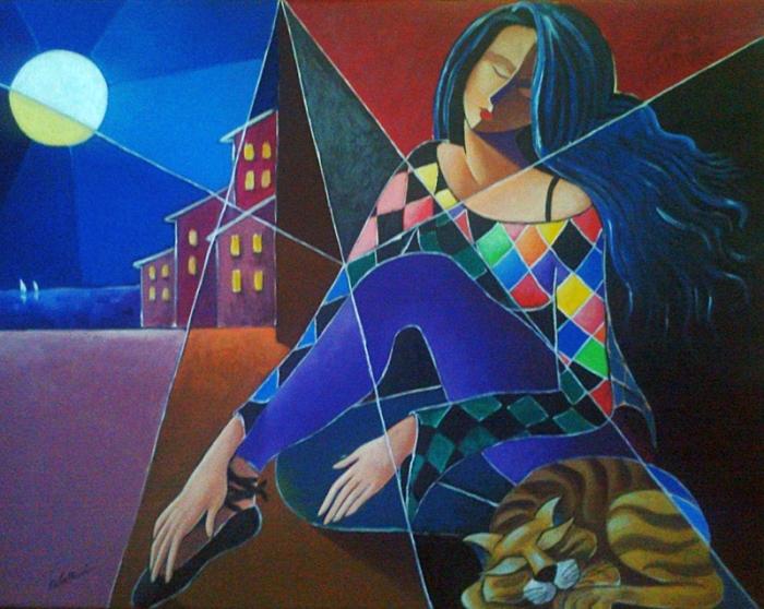 Итальянский художник. Rita Cavallari