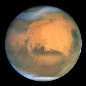 El verdadero color de Marte ¿cual es?