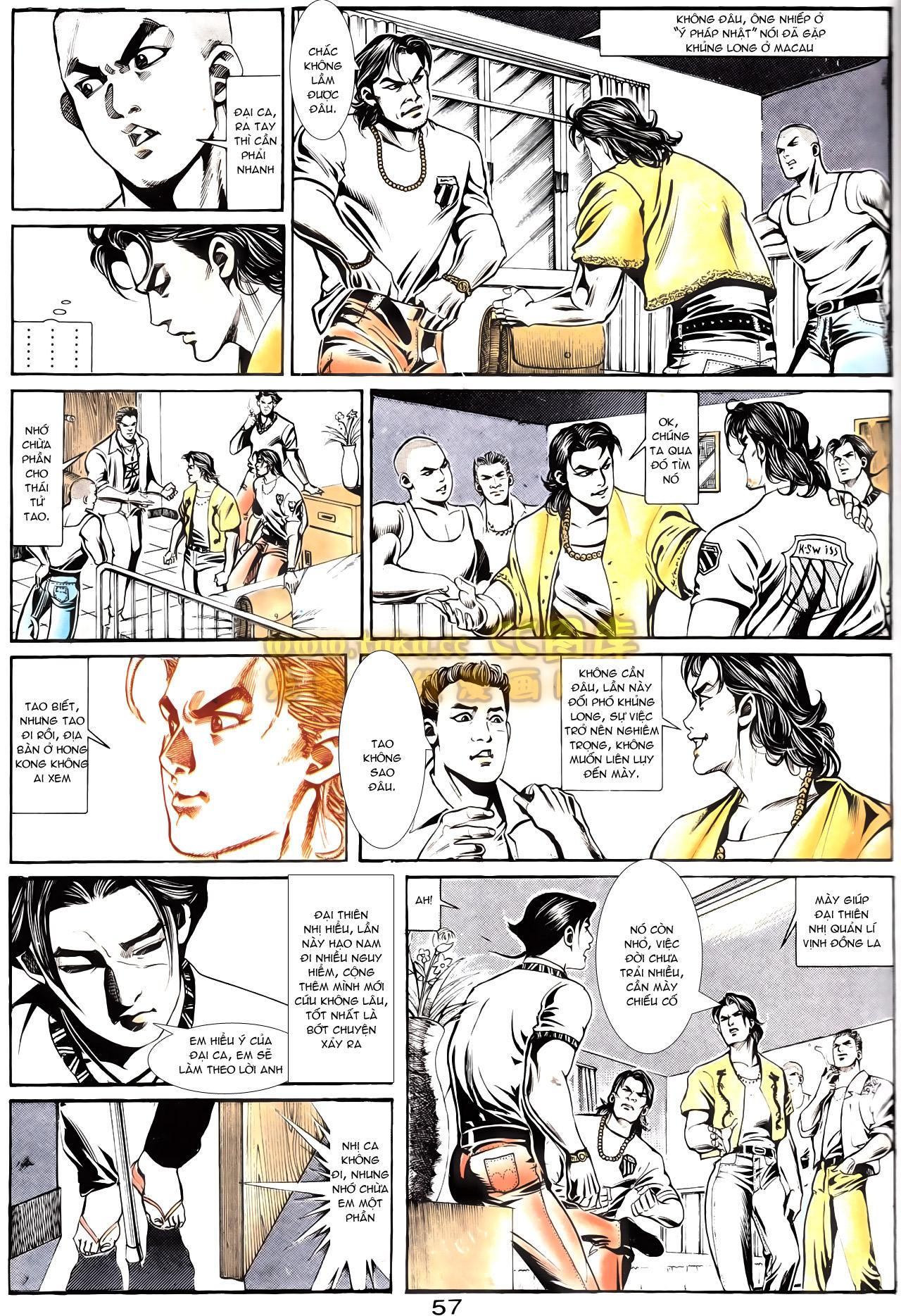 Người Trong Giang Hồ chapter 164: hạo nam chiến quạ đen trang 27