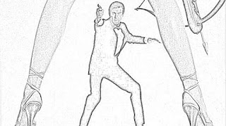 James Bond Film Review: James Bond Coloring Pages: Actors
