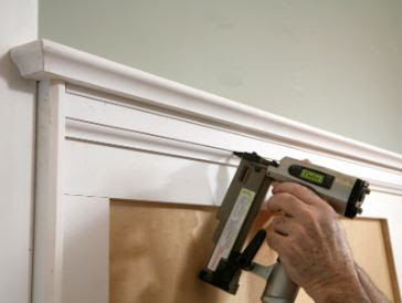 Install The Chair Rail For A Classic Impression In The Room
