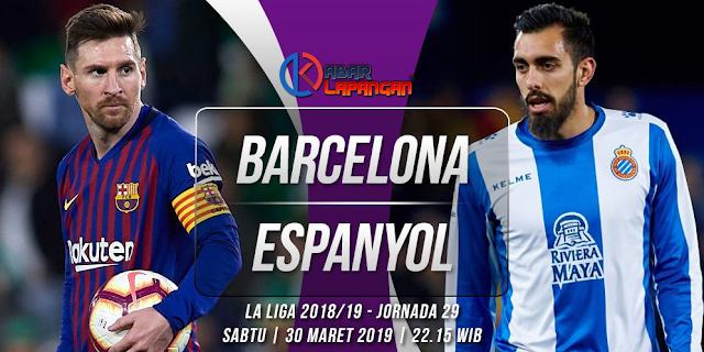 Prediksi Bola Barcelona vs Espanyol Prediksi Liga Spanyol