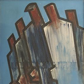 Agustín Ibarrola pintura figurativa
