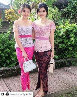 Kebaya Bali Pendek