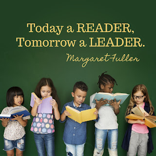 New year's tradition to encourage kids to read more.