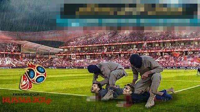 ISIS Rilis Poster Bunuh Ronaldo dan Messi di Piala Dunia 2018