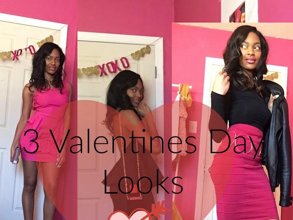 3 Valentines Day Looks
