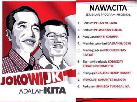 Rakyat Menderita Dan Tertekan, Program Nawacita Jokowi Mulai Redup Tak Terdengar