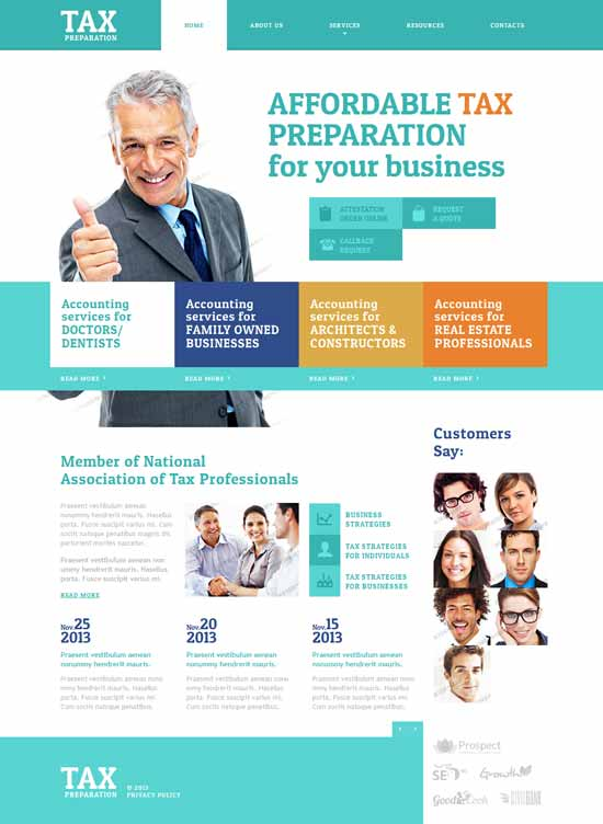 Best Business Consulting Website Templates Free & Premium ...