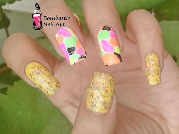 diy neon nail art ideas home