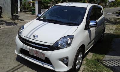 warna Mobil toyota agya white 2015