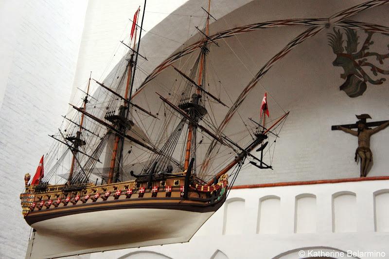 Aarhus Cathedral Votive Ship Denmark