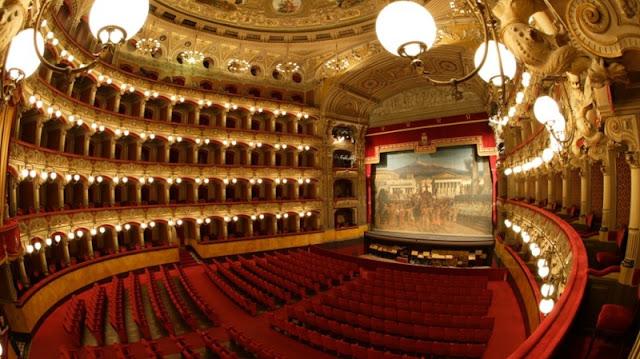 Teatro Massimo Bellini em Catania