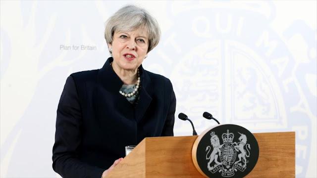 May anuncia gran maniobra antiterrorista tras atentado en Londres