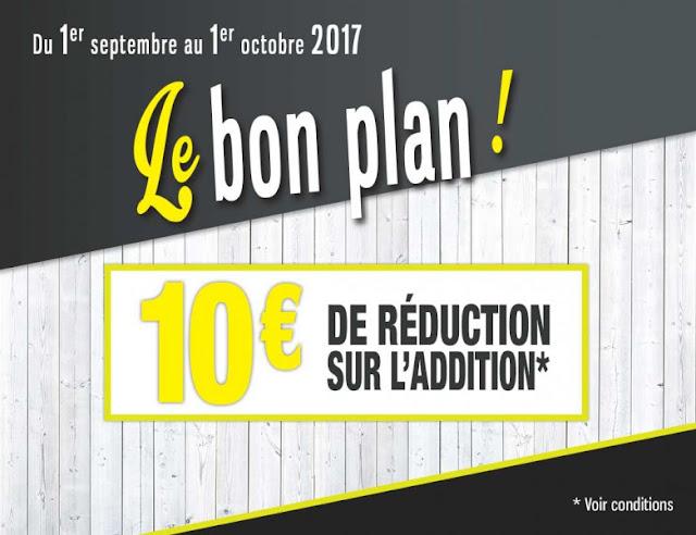 10 euros bon reduction restaurant