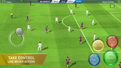 Take Control Fifa Mboile Soccer