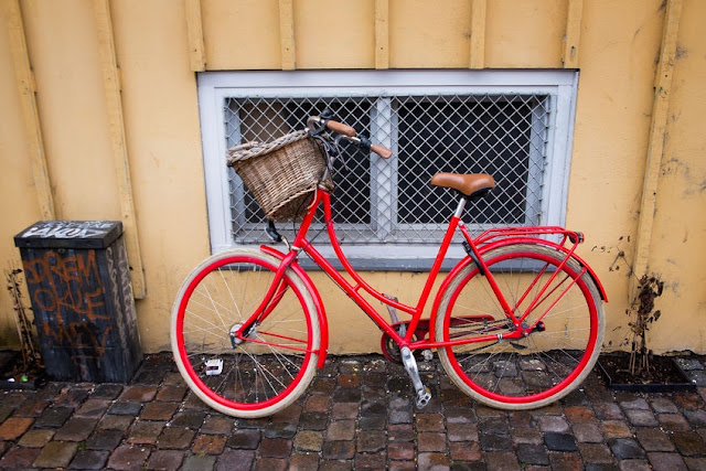 Bicycle in Copenhagen. Copyright: badahos / 123RF Stock Photo