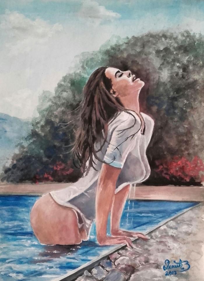 Сербский художник-самоучка.