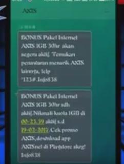 Trik Kuota Gratis Axis Terbaru 2019 Gratis 1 GB