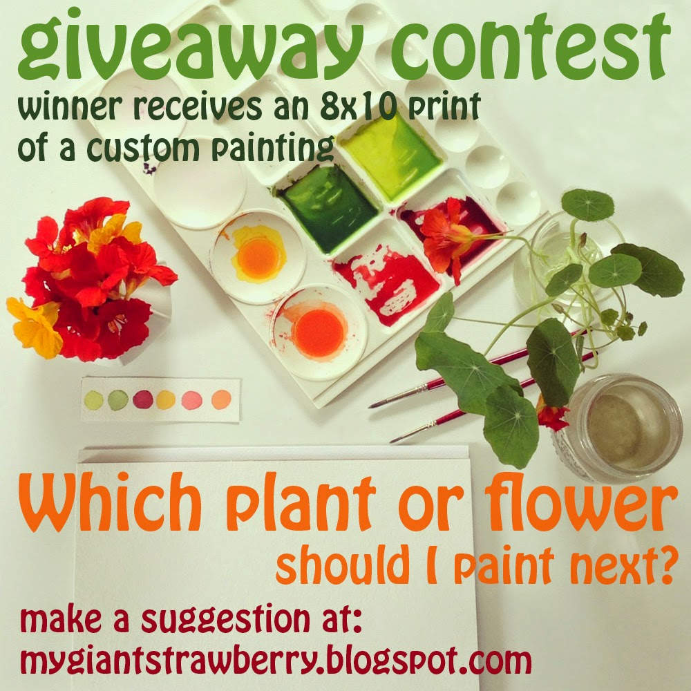 custom print giveaway by Anne Butera of My Giant Strawberry