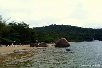 Passeio de barco em Paraty - Praia Vermelha
