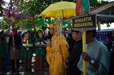 Arakan Pawai Pengantin Festival Pulau Penyengat 2019