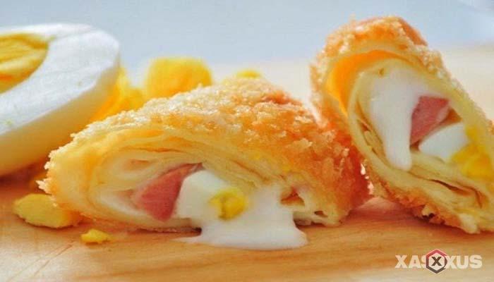 Resep cara membuat risoles mayonaise sosis