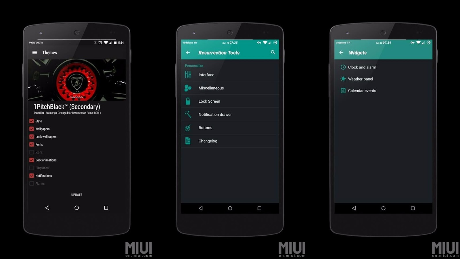 Resurrection Remix® M v5 6 8 Marshmallow 6 0 1 Redmi 1S - AndroidHordes