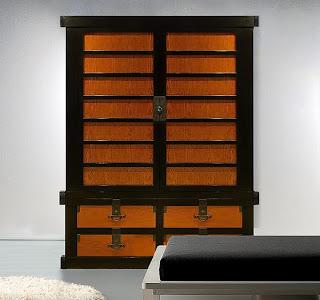 Fabulosos muebles asiáticos.