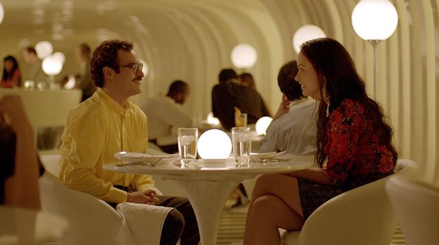 Joaquin Phoenix y Olivia Wilde en un momento de la película Her