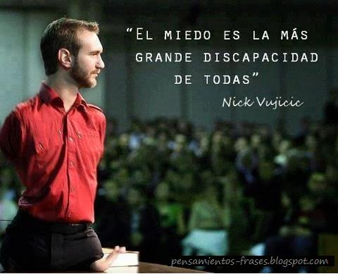 frases de Nick Vujicic