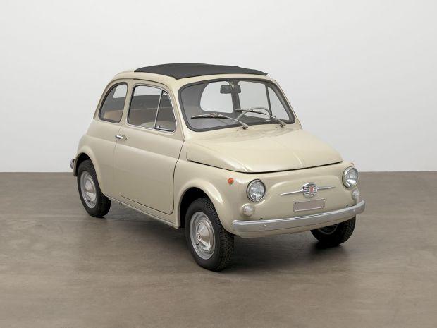To Fiat 500 στη συλλογή του MoMA