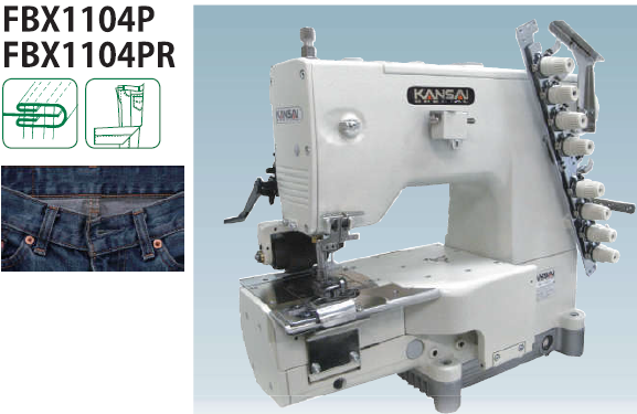 jeans manufacturing machine