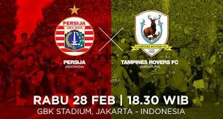 Preview Persija Jakarta vs Tampines Rovers #PersijaDay
