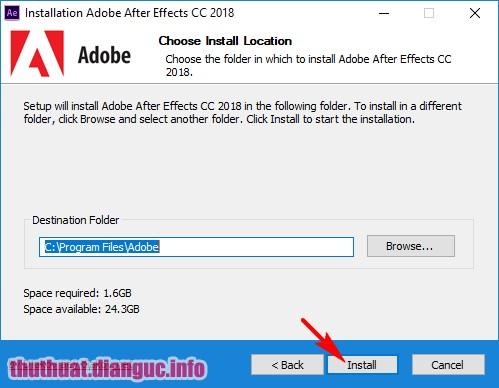 Adobe After Effect CC 2018 v15.0 Full crack