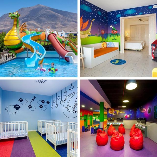 resort-gran-castillo-con-niños
