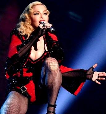 Foto de Madonna en fabuloso concierto