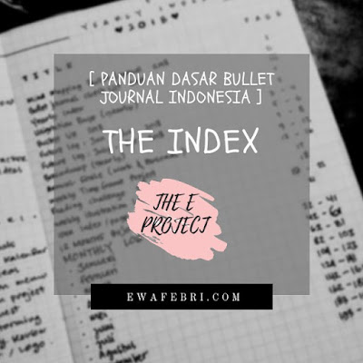 panduan dasar the index bullet journal