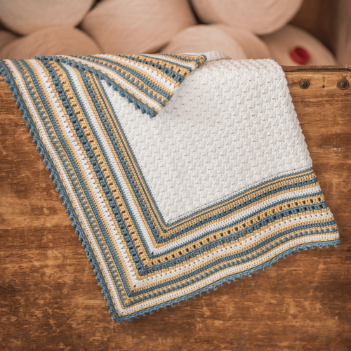 OHLALA BABY Blanket - Free Pattern