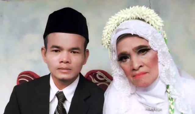 Nikahi Janda Berumur 70 Tahun, Pemuda Ini Niatkan Pernikahan Sebagai Ibadah
