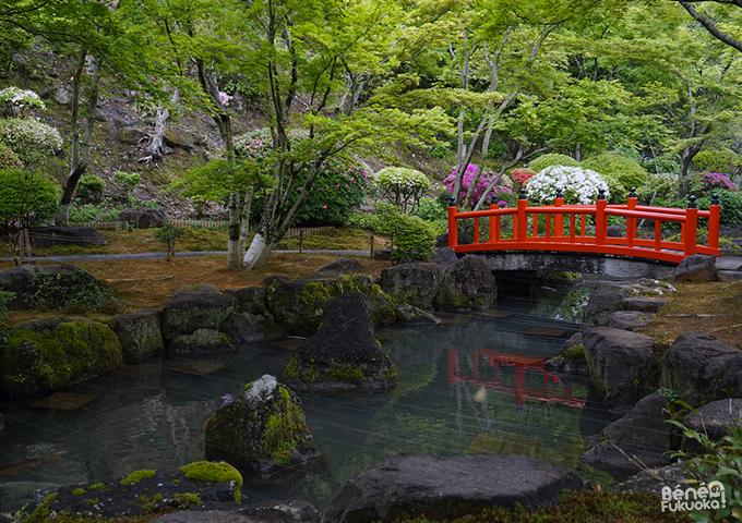 祐徳稲荷神社の日本庭園