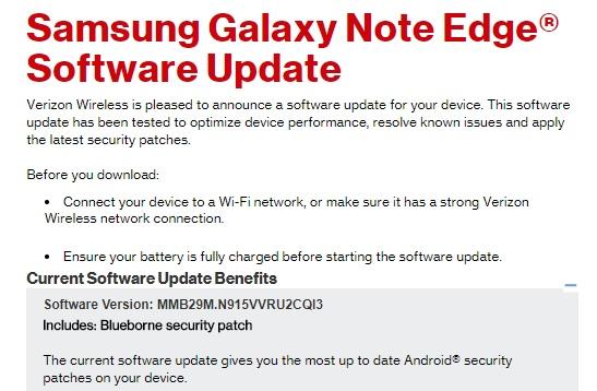 Extended Samsung phones arrange important