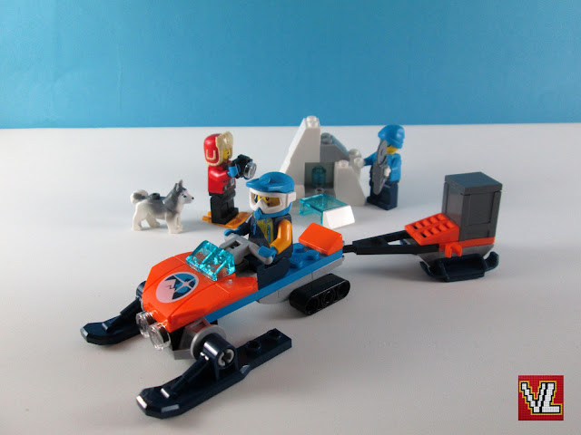 Set LEGO City 60191 Arctic Exploration Team