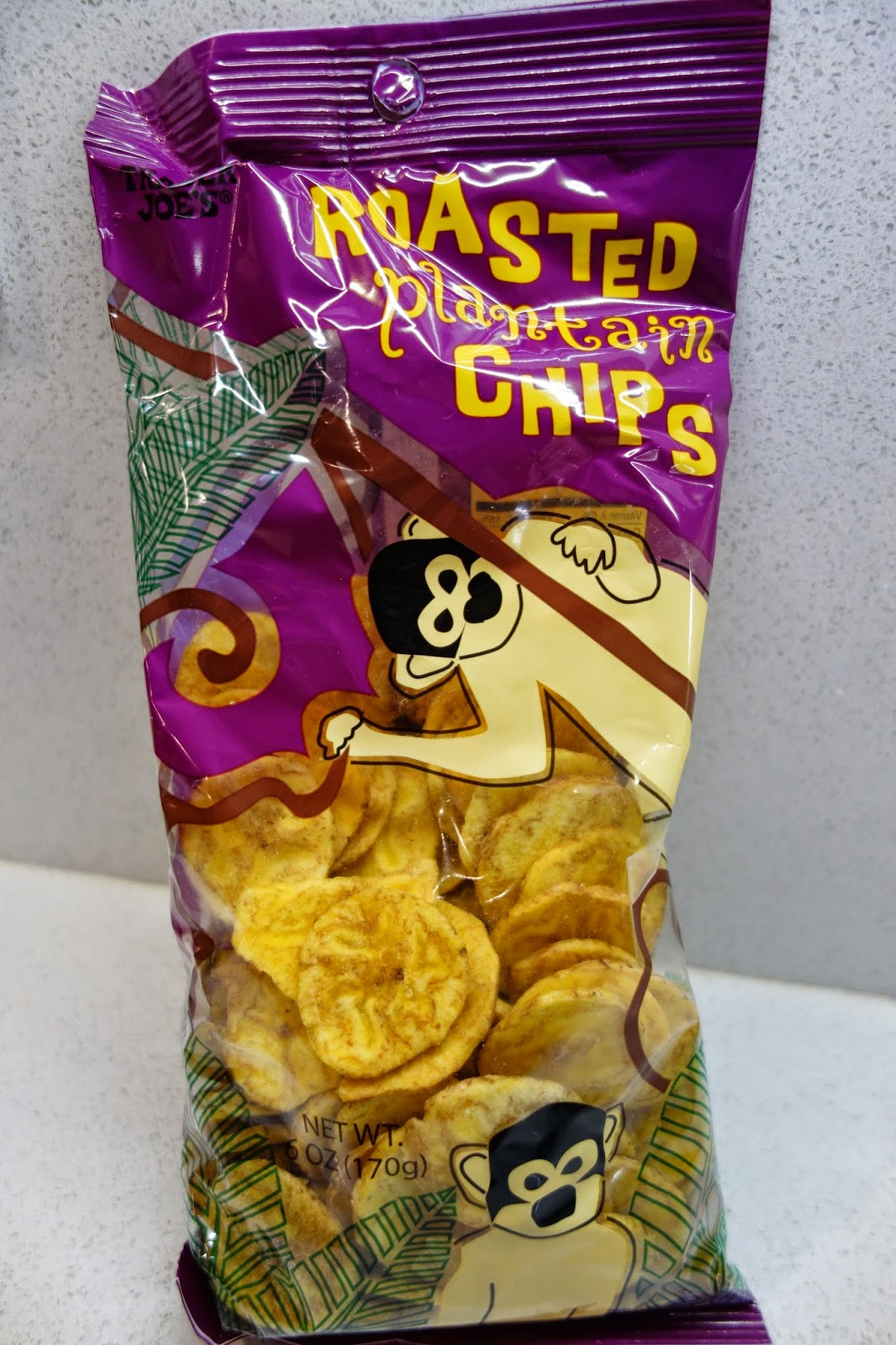 trader joes roasted plantain chips