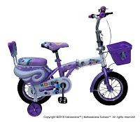 12 sepeda lipat anak
